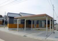 二世帯平屋の家